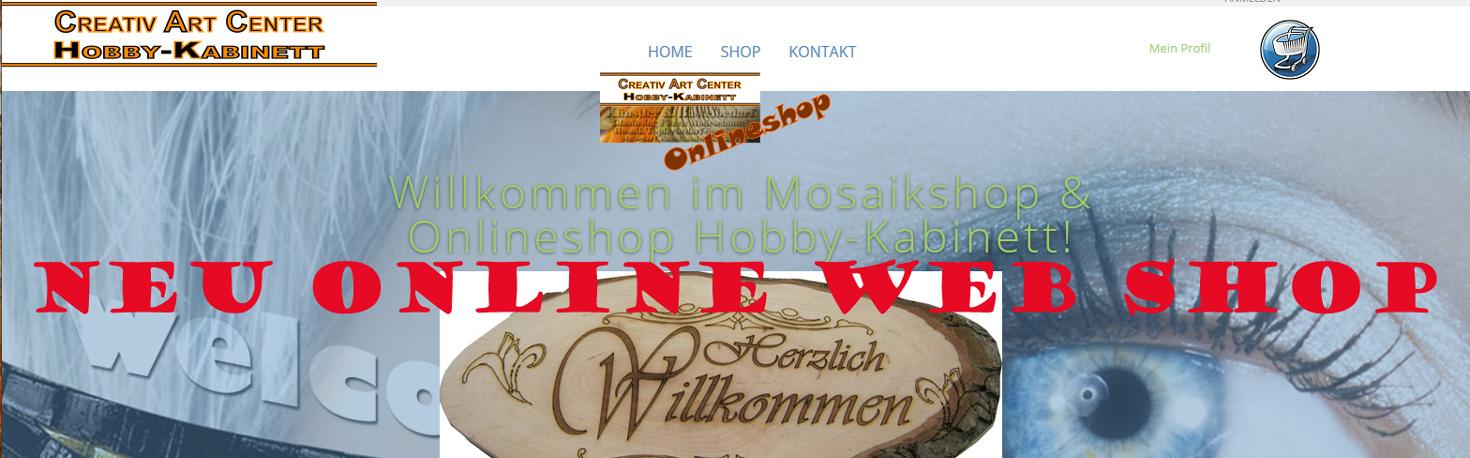 NEU In Kürze neuer Online Shop